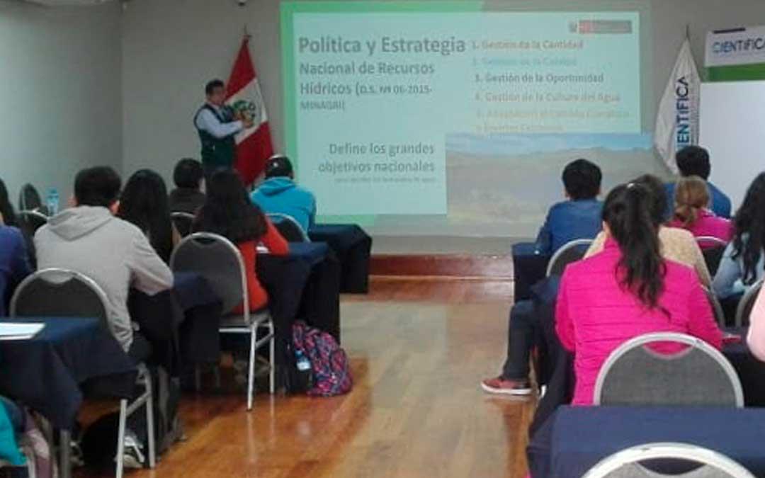 """Primer diálogo ambiental 2019: """"Enfoques de la Ingeniería Ambiental en el Perú"""""""