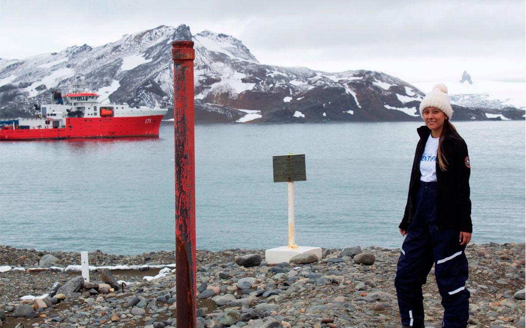 """""""La formación humana que obtuve en la universidad Científica del Sur, me ayudó a realizar la expedición en la Antártida con éxito"""""""